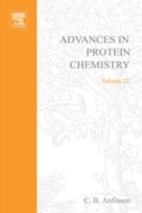 Foto Cover di ADVANCES IN PROTEIN CHEMISTRY VOL 22, Ebook inglese di  edito da Elsevier Science