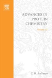 Ebook in inglese ADVANCES IN PROTEIN CHEMISTRY VOL 22 -, -