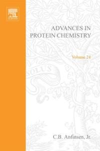 Ebook in inglese ADVANCES IN PROTEIN CHEMISTRY VOL 24 -, -