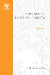ADVANCES IN PROTEIN CHEMISTRY VOL 24