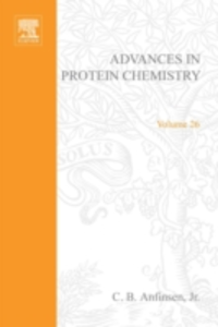 Ebook in inglese ADVANCES IN PROTEIN CHEMISTRY VOL 26 -, -