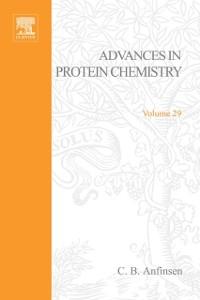 Ebook in inglese ADVANCES IN PROTEIN CHEMISTRY VOL 29 -, -