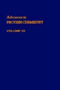 Ebook in inglese ADVANCES IN PROTEIN CHEMISTRY VOL 33 -, -