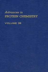 Ebook in inglese ADVANCES IN PROTEIN CHEMISTRY VOL 39 -, -
