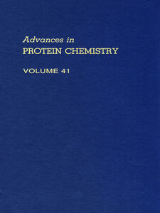Ebook in inglese ADVANCES IN PROTEIN CHEMISTRY VOL 41
