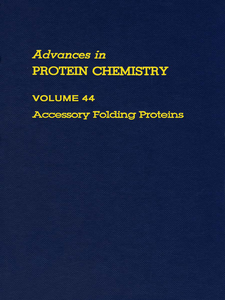 Ebook in inglese ADVANCES IN PROTEIN CHEMISTRY VOL 44 -, -