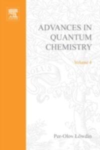 Ebook in inglese ADVANCES IN QUANTUM CHEMISTRY VOL 4 -, -