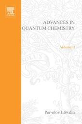 ADVANCES IN QUANTUM CHEMISTRY VOL 11