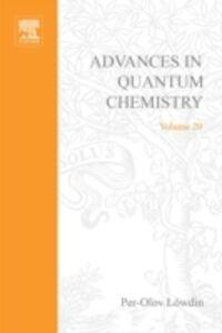 Foto Cover di ADVANCES IN QUANTUM CHEMISTRY VOL 20, Ebook inglese di  edito da Elsevier Science