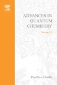 Ebook in inglese ADVANCES IN QUANTUM CHEMISTRY VOL 20 -, -