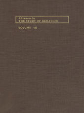 ADVANCES IN THE STUDY OF BEHAVIOR V 18