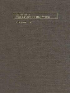 Ebook in inglese Advances in the Study of Behavior