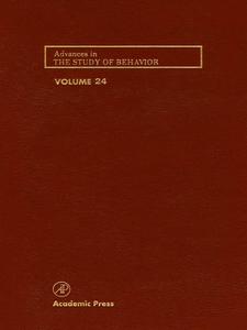 Ebook in inglese Advances in the Study of Behavior -, -