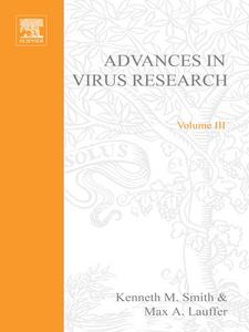 Ebook in inglese ADVANCES IN VIRUS RESEARCH VOL 3 -, -