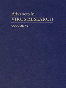 Ebook in inglese ADVANCES IN VIRUS RESEARCH VOL 40 -, -
