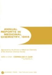 ANNUAL REPORTS IN MED CHEMISTRY V1 PPR