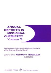 Ebook in inglese ANNUAL REPORTS IN MED CHEMISTRY V7 PPR