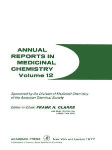 Foto Cover di ANNUAL REPORTS IN MED CHEMISTRY V12 PPR, Ebook inglese di  edito da Elsevier Science
