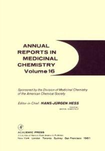 Foto Cover di ANNUAL REPORTS IN MED CHEMISTRY V16 PPR, Ebook inglese di  edito da Elsevier Science