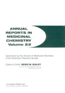 Ebook in inglese ANNUAL REPORTS IN MED CHEMISTRY V22 PPR -, -