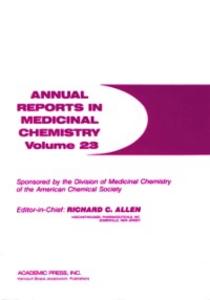 Ebook in inglese ANNUAL REPORTS IN MED CHEMISTRY V23 PPR -, -