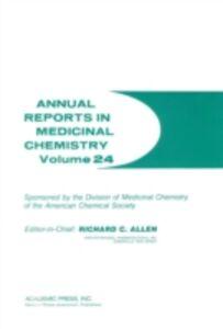 Foto Cover di ANNUAL REPORTS IN MED CHEMISTRY V24 PPR, Ebook inglese di  edito da Elsevier Science