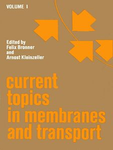 Foto Cover di CURR TOPICS IN MEMBRANES & TRANSPORT V1, Ebook inglese di  edito da Elsevier Science