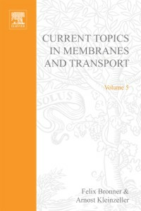 Ebook in inglese CURR TOPICS IN MEMBRANES & TRANSPORT V5 -, -