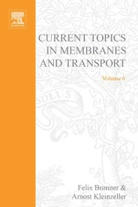 Ebook in inglese CURR TOPICS IN MEMBRANES & TRANSPORT V6 -, -