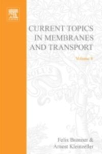 Ebook in inglese CURR TOPICS IN MEMBRANES & TRANSPORT V8 -, -