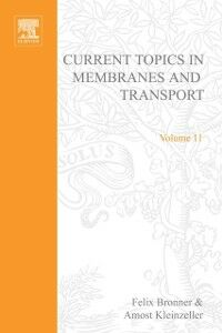Ebook in inglese CURR TOPICS IN MEMBRANES & TRANSPORT V11