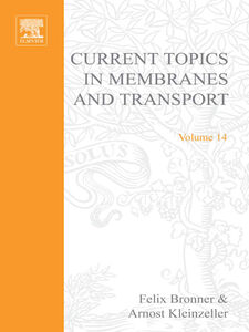 Ebook in inglese CURR TOPICS IN MEMBRANES & TRANSPORT V14 -, -