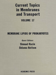 Ebook in inglese CURR TOPICS IN MEMBRANES & TRANSPORT V17 -, -
