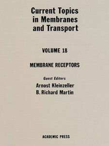 Ebook in inglese CURR TOPICS IN MEMBRANES & TRANSPORT V18 -, -