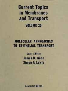 Ebook in inglese CURR TOPICS IN MEMBRANES & TRANSPORT V20 -, -