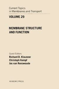 Ebook in inglese CURR TOPICS IN MEMBRANES & TRANSPORT V29 -, -