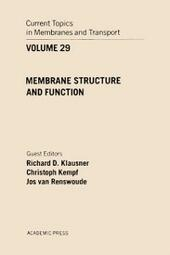 CURR TOPICS IN MEMBRANES & TRANSPORT V29