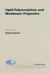 Ebook in inglese Lipid Polymorphism and Membrane Properties -, -