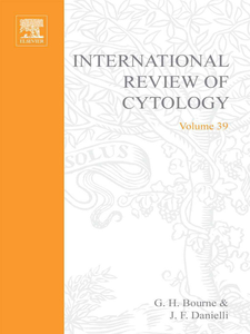Ebook in inglese INTERNATIONAL REVIEW OF CYTOLOGY V39 -, -