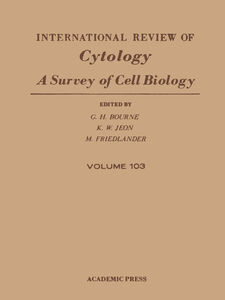 Foto Cover di INTERNATIONAL REVIEW OF CYTOLOGY V103, Ebook inglese di  edito da Elsevier Science