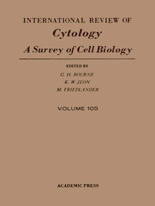 Foto Cover di INTERNATIONAL REVIEW OF CYTOLOGY V105, Ebook inglese di  edito da Elsevier Science