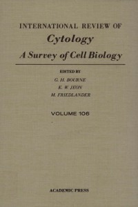 Ebook in inglese INTERNATIONAL REVIEW OF CYTOLOGY V106 -, -