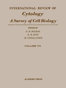 Ebook in inglese INTERNATIONAL REVIEW OF CYTOLOGY V111 -, -