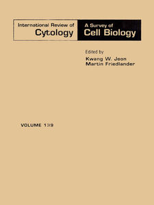 Foto Cover di INTERNATIONAL REVIEW OF CYTOLOGY V139, Ebook inglese di  edito da Elsevier Science