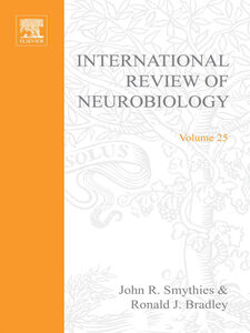 Ebook in inglese INTERNATIONAL REVIEW NEUROBIOLOGY V 25