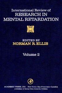 Ebook in inglese INT'L REV OF RESRCH IN MENTL RETARDTN V2 -, -