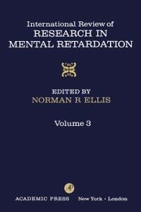 Ebook in inglese INT'L REV OF RESRCH IN MENTL RETARDTN V3