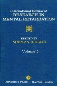 Foto Cover di INT'L REV OF RESRCH IN MENTL RETARDTN V5, Ebook inglese di  edito da Elsevier Science