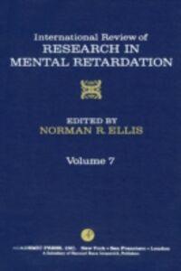 Foto Cover di INT'L REV OF RESRCH IN MENTL RETARDTN V7, Ebook inglese di  edito da Elsevier Science