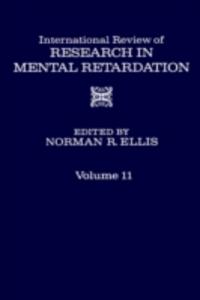 Ebook in inglese INT'L REV OF RESRC IN MENTL RETARDTN V11 -, -